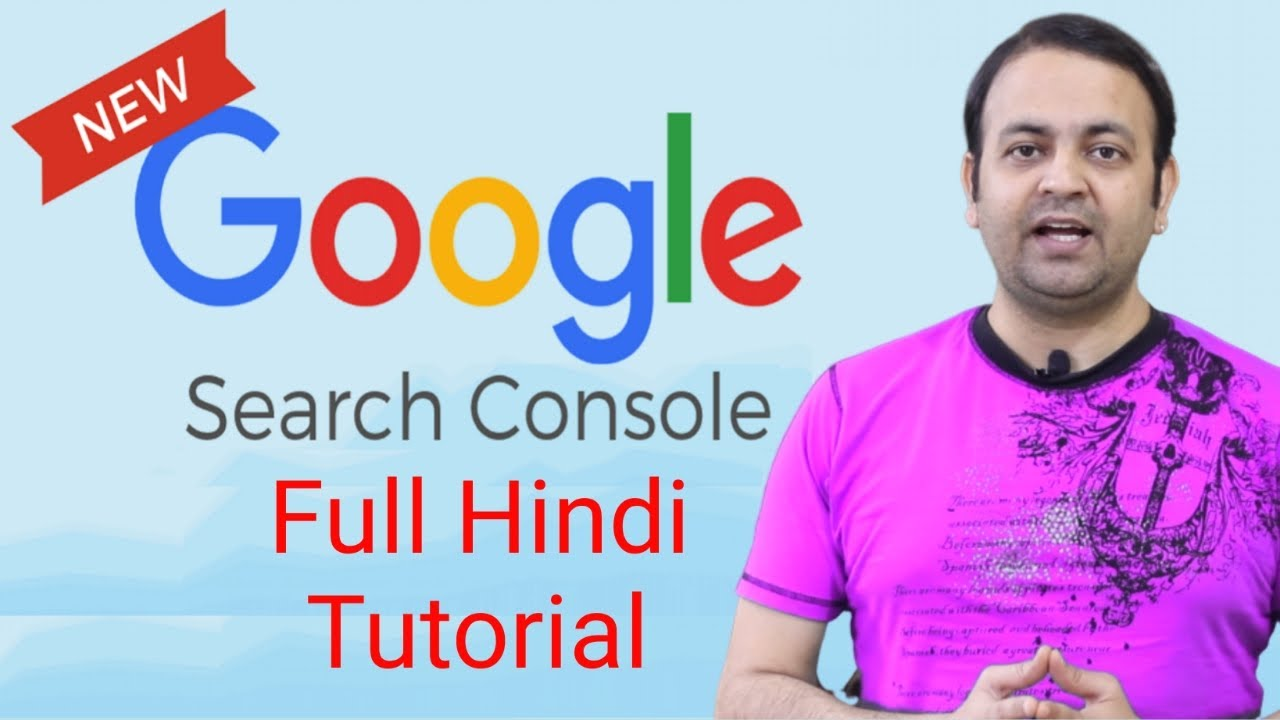 Download Google search console step by step full tutorial in Hindi (2020) | Techno Vedant