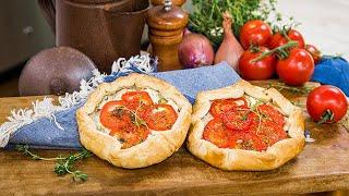 Leigh Ann Chatagnier's Tomato Galettes - Home & Family