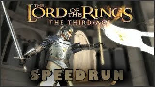 LOTR: The Third Age PS2 Speedrun Any% (Old pb)(Easy) (5:48:01)