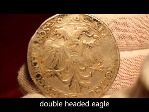 """1602 silver """"60 Groot"""" or """"30 Stuiver"""" arenddaalder coin of the Netherlands, Zeeland"""
