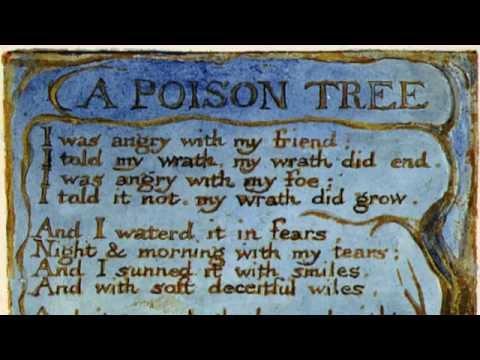 """""""A Poison Tree"""" William Blake (British accent)"""
