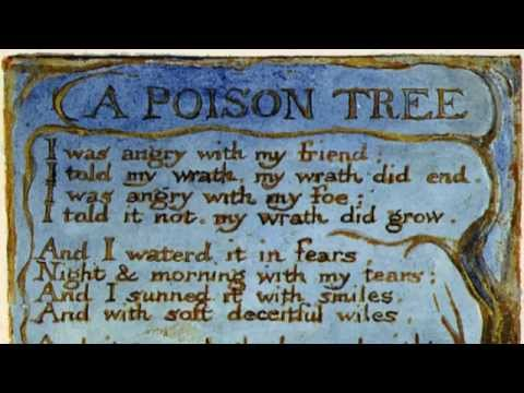 A Poison Tree William Blake British accent