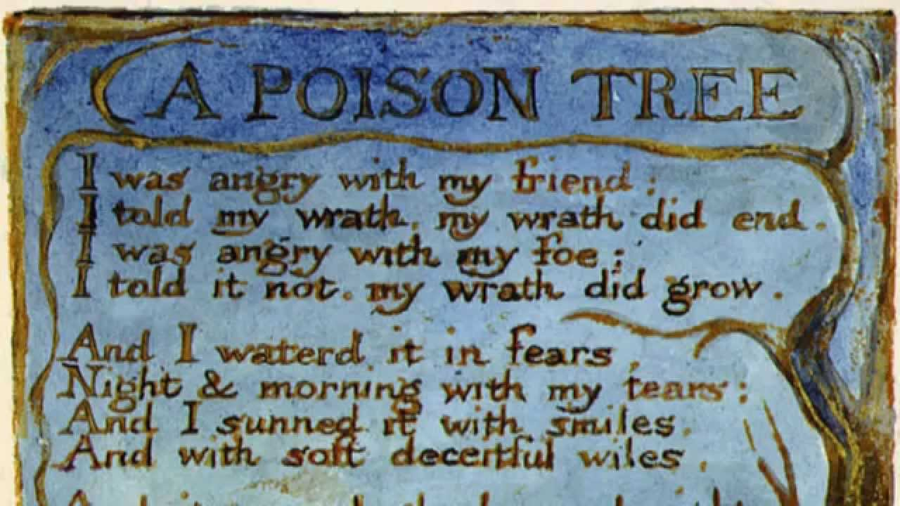 a poison tree short summary