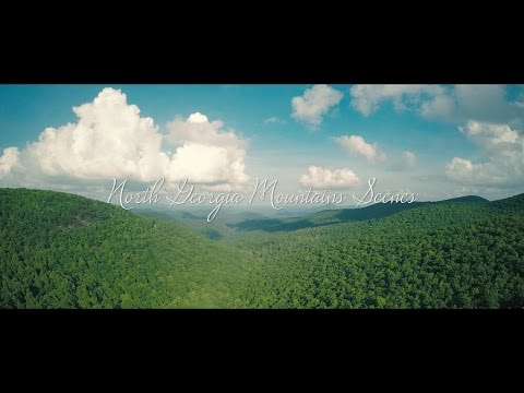 North Georgia Mountains Scenes (4K)