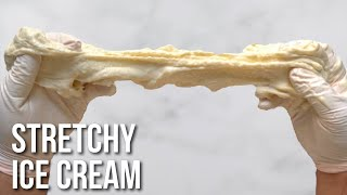 Making stretchy ice cream with a centuries old recipe - How to make booza at home