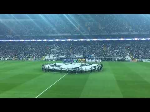 Beşiktaş Vodafone Arena ilk Şampiyonlar ligi müziği
