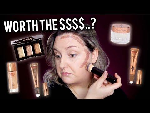 WORTH YOUR $$$..? TESTING FULL FACE CHARLOTTE TILBURY MAKEUP