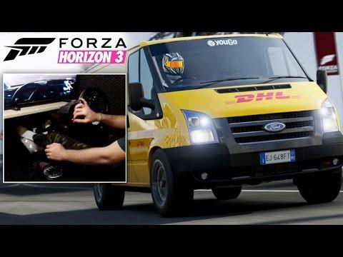 Forza Horizon 3 GoPro | Lucrez la curierat!