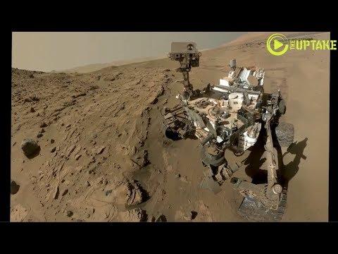 Mars CuriosityTakes Selfie To Mark 1 Martian Year Anniversary