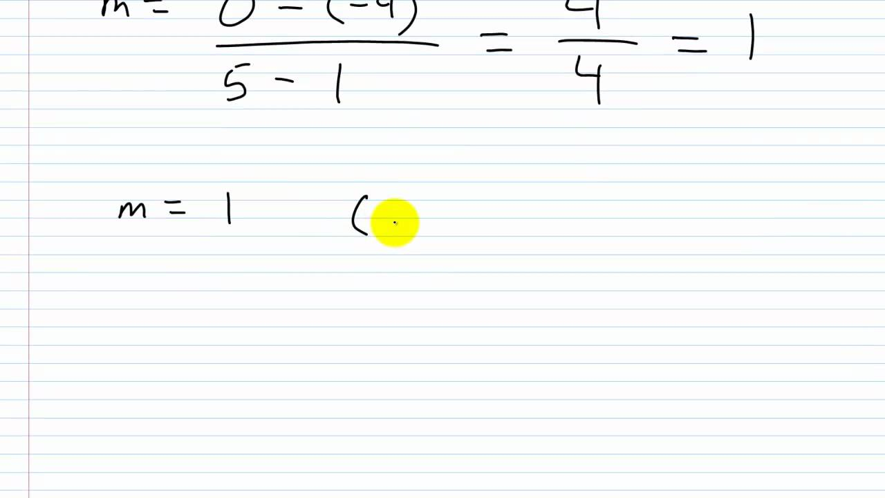 Algebra i help point slope form part ii write the equation of a algebra i help point slope form part ii write the equation of a line given two points falaconquin