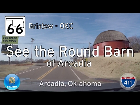 Oklahoma Highway 66 - Bristow - Oklahoma City | Drive America's Highways 🚙