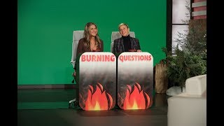 Jennifer Aniston Answers Ellen's 'Burning Questions'