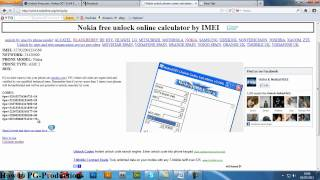 Unlock any nokia phone for Free!