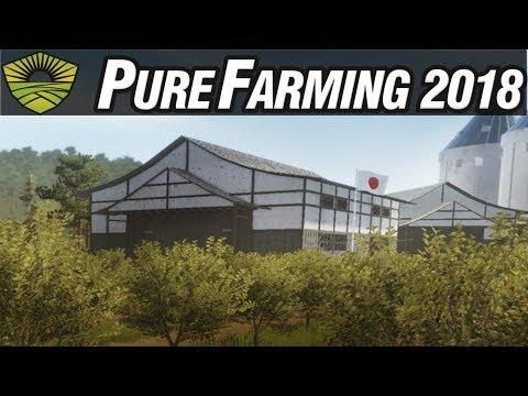 Pure Farming 2018 Gameplay #23 - Cherries in Japan - Free Farming PC Sandbox Gameplay
