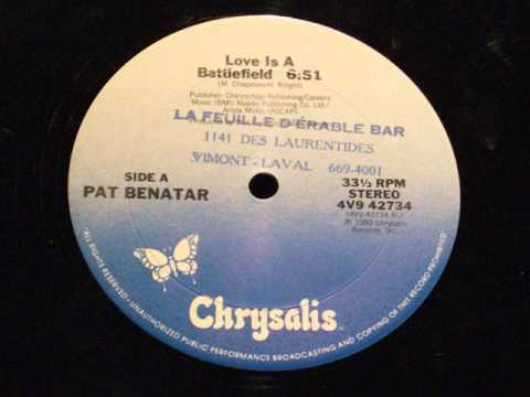 Love is a battlefield (Special extended remix) - Pat Benatar