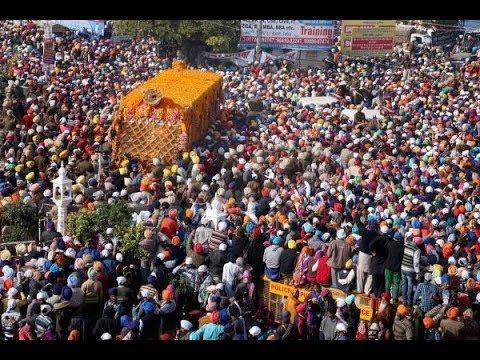 Nagar Kirtan from Sri Fatehgarh Sahib ji