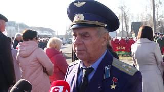 В Калинковичском районе торжественно перезахоронили останки погибших солдат