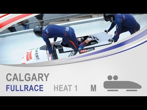 Calgary | 2-Man Bobsleigh Heat 1 World Cup Tour 2014/2015 | FIBT Official