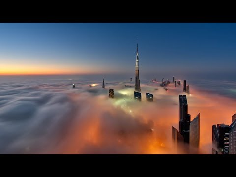 Strangest Weather on Earth: Dubai Fog 14/02/2018