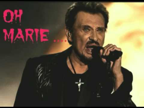 oh marie de johnny hallyday cover mary marie youtube. Black Bedroom Furniture Sets. Home Design Ideas