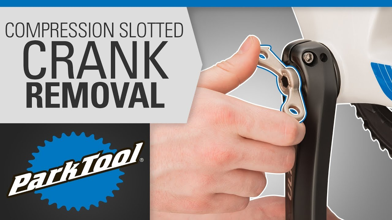 Crank Removal and Installation - Two Piece Compression Slotted (Hollowtech  II, FSA)