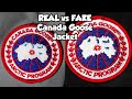 REAL VS FAKE CANADA GOOSE JACKET!