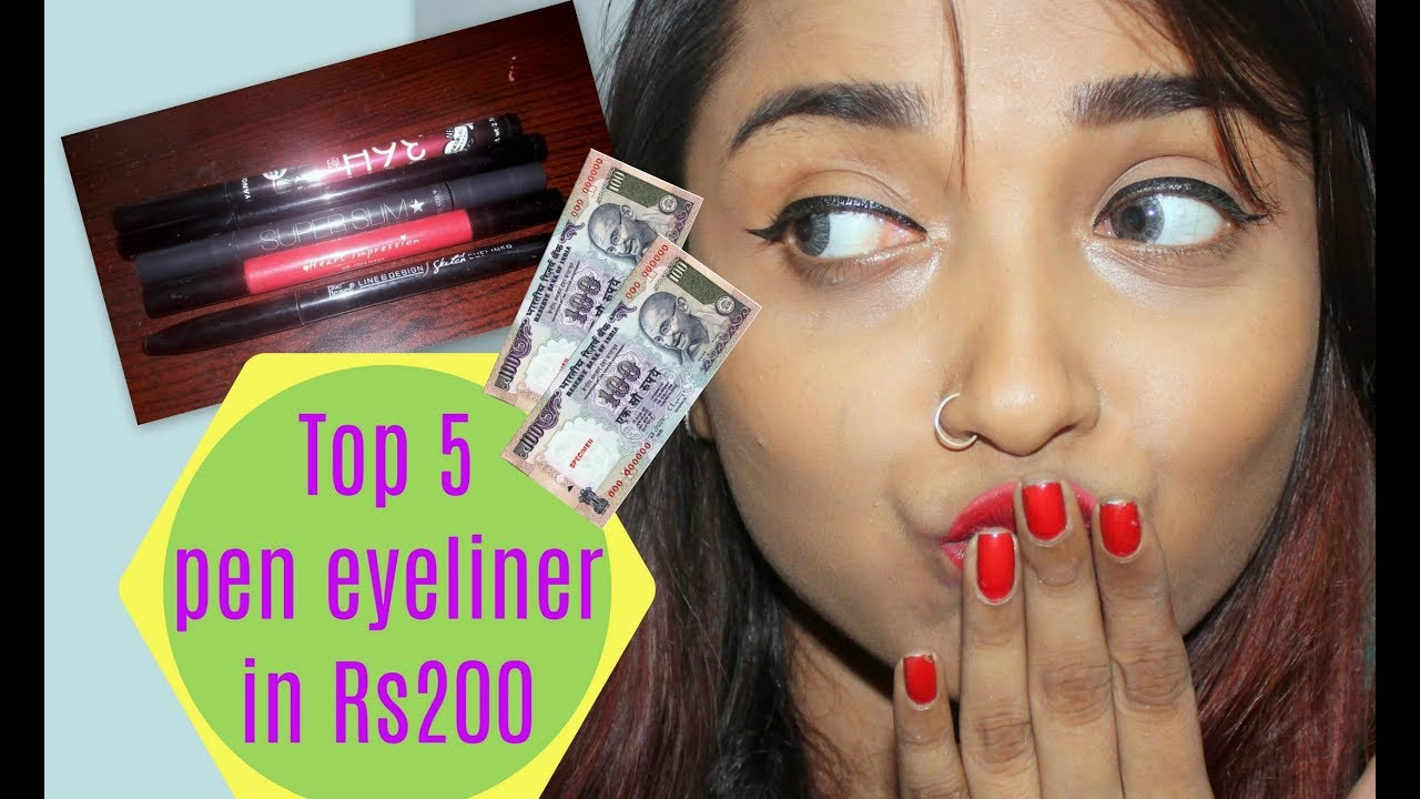 Top 5 Affordable Pen Eyeliner In India Within Rs 200 Best Pen