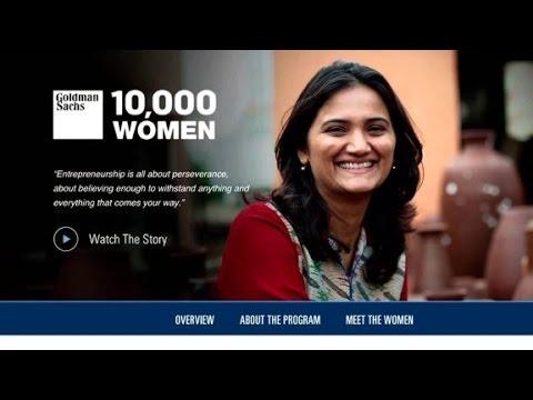 Goldman Sachs: Investing in female entrepreneurs is smart...