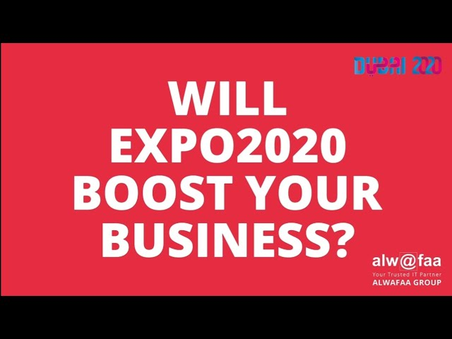 Is your business 𝐃𝐢𝐠𝐢𝐭𝐚𝐥𝐥𝐲 𝐃𝐢𝐬𝐜𝐢𝐩𝐥𝐢𝐧𝐞𝐝 for Expo 2020?