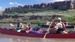 Milk River Canoe Trip 2012