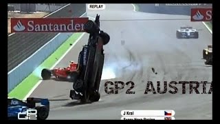 GP2 - Austria Grand Prix 2015 Race - 2 Highlights F1 Full ~ 21.06.2015 And Crash HD.