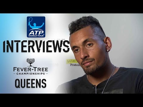 Kyrgios On Facing Murray: Emotionally 'It Wasn't An Easy Match' Queens 2018