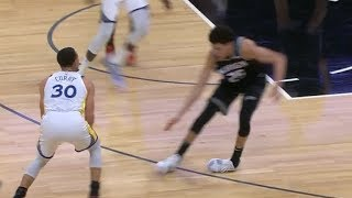 Stephen Curry Breaks Justin Jackson's Ankles Without Even Dribbling   2018-19 NBA Season