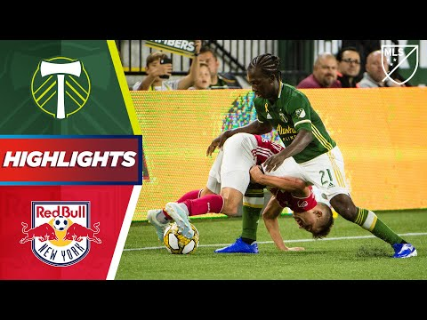 Portland Timbers vs. New York Red Bulls   A Stoppage Time Penalty!   Highlights