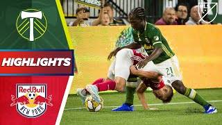 Portland Timbers vs. New York Red Bulls | A Stoppage Time Penalty! | Highlights
