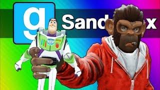 Vanoss - 十三分鐘看完玩具總動員(Gmod  Toy Story 4 The Toys Escape!)
