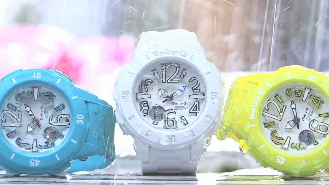 Baby-G Watches for Women - YouTube 73d19fe5ac00