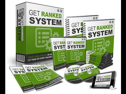 Get Ranked System Plus Bonuses - Get Ranked System Review Plus Bonuses