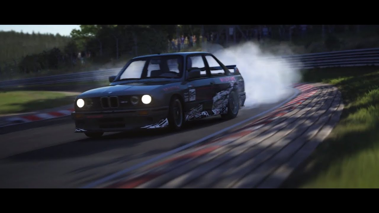 Assetto Corsa BMW M3 Drift Cinematic