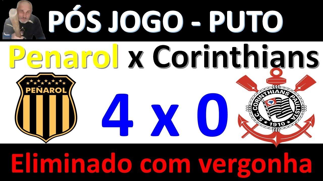 Pos jogo Corinthians 0 x 4 Penarol/URU - Lixo de Time, Eliminado da Sulamericana, Voy Putasso!