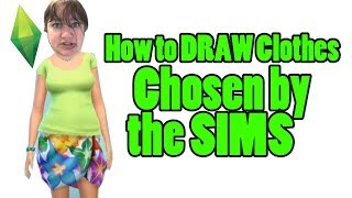 How to Draw Clothes Sims Fashion