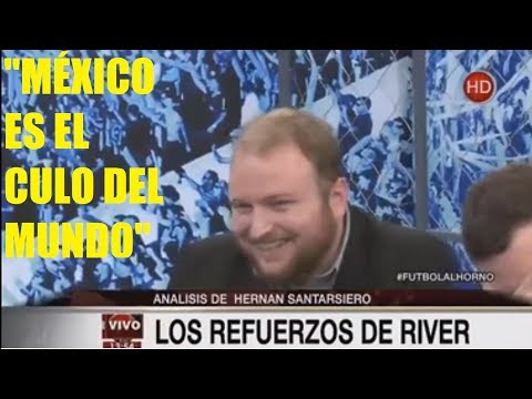 Periodistas argentinos humillan e insultan a México y al fútbol mexicano.