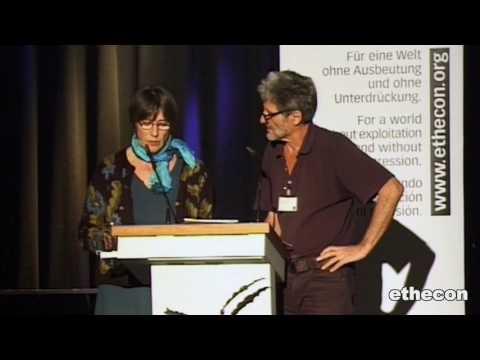Frieden und Menschenrechte | Rede | Tomo Kriznar | Blue Planet Award | ethecon Tagung 2015