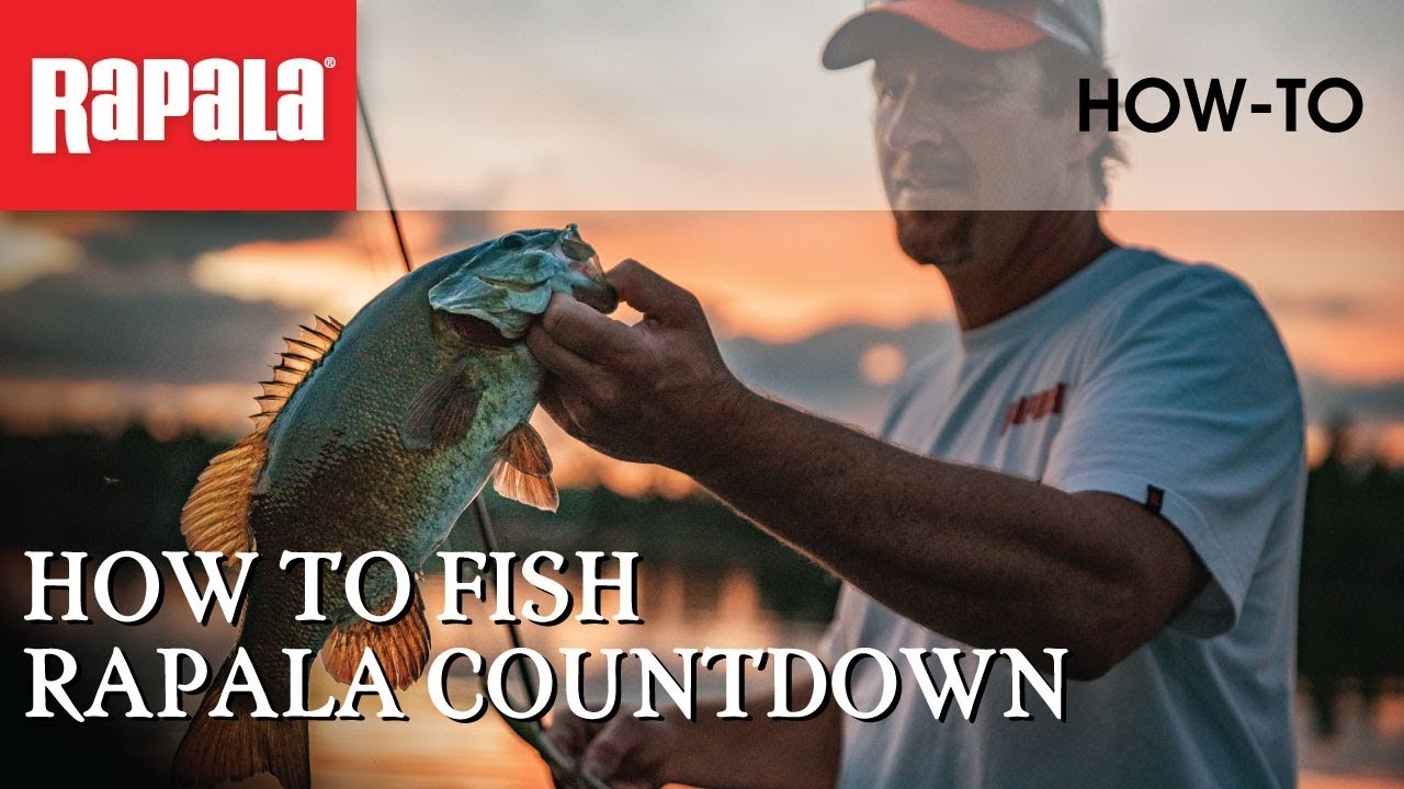 rapala countdown how to use