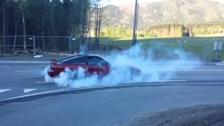 200sx s13 RB25 600+hp  burnout - GAGA