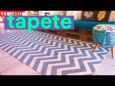 DIY - TAPETE CHEVRON
