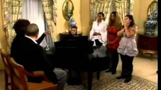 Whitney Houston as mentor on X-Factor UK (2009)