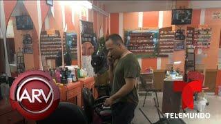 Hombre mata a su esposa a cuchilladas en un salón de belleza | Al Rojo Vivo | Telemundo