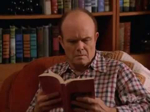 70s Show Red's Reading Dirty Romance Book
