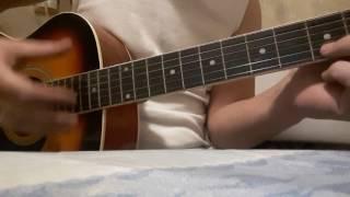 Урок на гитаре сплин вниз головой,аккорды,ритм,дополнение.